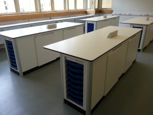 St Charles College, London - Science Laboratory Furniture